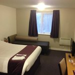 Small, but standard Premier Inn Room