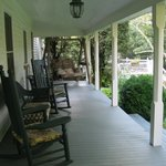 Rocking chair front porch.  Sit and stay a while.
