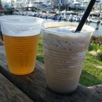 drinks! mudslides are a must!