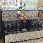 Welcome drink display
