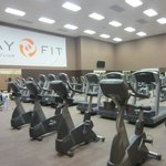 LARGE cardio room in gym