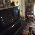 Piano in Family Room