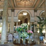 Lobby - beautiful flowers and entrance