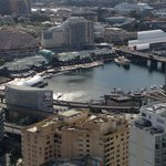 View from overlooking Darling Harbour