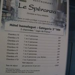Photo of Hotel restaurant le Speranza