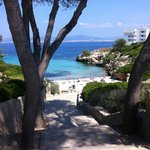 Cala Blava ( the beach that takes you for free)