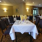 Dining room for Sunday lunch