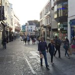 Galway's shops and pubs are just up the street!