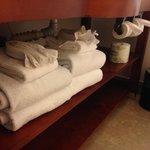 4-Star Quality towel folding - not the usual Hampton Inn