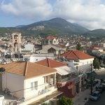 Kyparissia city view from hotel