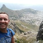 view from 3/4 up table mountain
