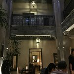 Loved the dreamy atmosphere of the riad at night.