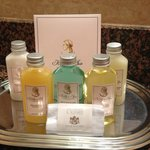 Kelly's Spa bath amenities are awesome!