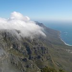 The tablecloth rolling in over the Twelve Apostles.