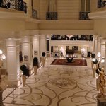 The beautiful hotel foyer has the WOW factor
