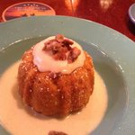 Pumpkin Cake with cream chees frosting and Jim Beam Cream Sauce