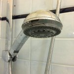 Broken shower head that squirted everywhere. Annoying. (Room 105)