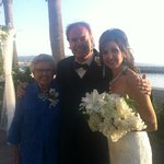 AT OUR PORTOFINO WEDDING WITH MY MOTHER-IN-LAW ALICE
