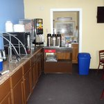 Free Continental Breakfast served 6 am to 10 am