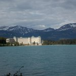 The Chateau from the other end of Lake Louise