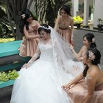 Wedding at Pool Area