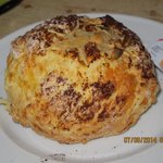 The cheese scone at Paringa Salmon Fram