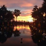 My beautiful sunset at JW Marriott Phuket so beautiful colors in the sky