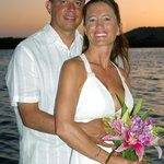 Weddings at Barefoot Cay are intimate and romantic