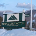 A snowy welcome to Smugglers' Notch Resort