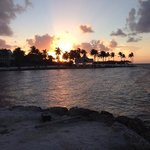 Famous sunset in the Keys.