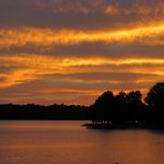 Sunset at Mariner's Restaurant in Natchitoches