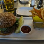The Original Mini Burgers Four all beef patties, special sauce, lettuce, cheese, pickles, onion,