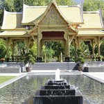 Thai Pavilion and Water Feature