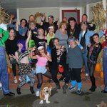 80's theme party at the River Run BnB