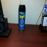 Ant spray given to me by clerk to take care of ant problem.