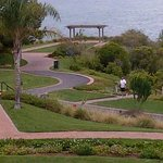 Grounds leading to the oceanfront
