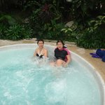 at Jacuzzi