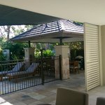 Outdoor BBQ and Patio - 2br apartment w plunge pool