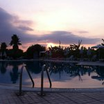 Sunset over pool!!!!