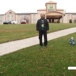 Me at Holiday Inn Delmont