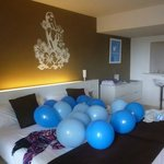 Party Suite balloons!