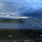 Stuttgart Airport from room's window