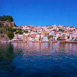 View of Parga Habour