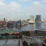 Inner Harbor from Room 1208
