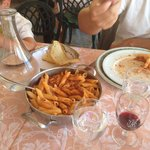 Best pastas we ate in Italy were served here! Pasta is made fresh in house and sauces are delici