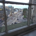 Princes street from room 11