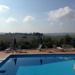 La Selva pool and view
