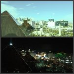 Day to night view in 2 bedroom suite.