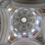 The dome of the cathedral