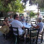 Local taverna in Koukounaries